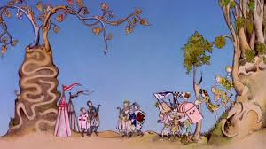 14 minutes of deleted monty python animation from terry gilliam