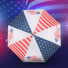 Reverse Color American Flag Buy American Flag Umbrella And Get Free Shipping On Aliexpress Com