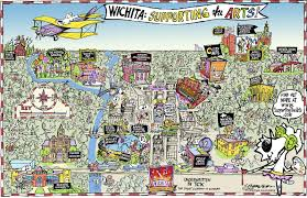 Map Of Wichita Ks Crowson Blog What U0027s Where In Wichita Arts