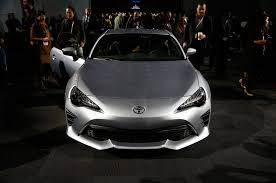 frs with lexus front end 2017 toyota 86 revealed for new york the scion fr s gets a new