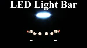 how to wire an led light bar properly project night light episode