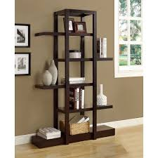 Sauder Harbor View Bookcase by White Color 5 Shelf Bookcase Style 5 Shelf Bookcase Style Modern