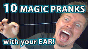Magic Trick Meme - 10 weird magic pranks with ears how to tricks you can do youtube