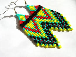 Beaded Chandelier Etsy Afros And Pumps Trend Watch Seed Beaded Native American Earrings