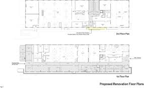 Public Building Floor Plans Landmarks Approves Renovations To Building 110 On Governors Island