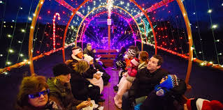 philadelphia light show 2017 visit with santa and take a light show hayride with christmas lights