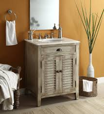 Unfinished Wood Vanity Table Bathroom Small Farmhouse Bathroom Vanity In Natural Wood For