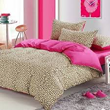 Cheetah Home Decor Formidable Pink Cheetah Print Bedding Elegant Home Design Ideas