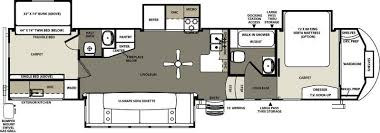 bunkhouse fifth wheel floor plans 2015 forest river sierra 376bhok fifth wheel madelia mn noble rv