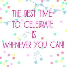 celebrate quotes fc story confetti