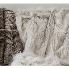 Faux Fur Throw Ice Queen Fur Throw Luxury Throw