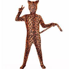halloween full body suit popular tiger full body costume buy cheap tiger full body costume