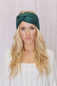 knitted headbands find out stylish looks in the knitted headbands yishifashion