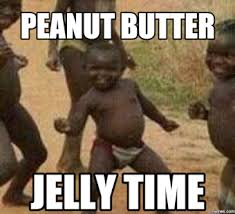 Peanut Butter Jelly Meme - banana peanut butter jelly time button botonera android apps