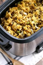 cooker cornbread and sausage melanie makes