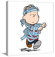 linus mummy peanuts canvas art u2013 charlie brown art