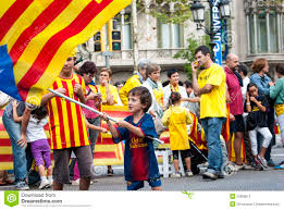 catalan way demanding the independence of catalonia editorial
