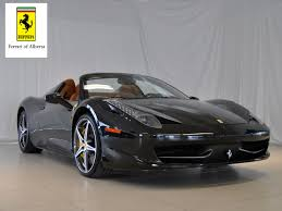 chrome ferrari 458 spider pre owned inventory ferrari of alberta