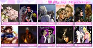 Top 10 Video Game Memes - video game top 10 awesomenest couples meme by shadow force silver