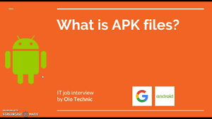 what is a apk file android what is apk files