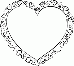 love coloring pages printable free printable heart coloring pages coloring home