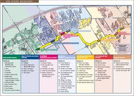 Hollywood Usa Map las vegas monorail map