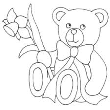 18 free printable teddy bear coloring pages