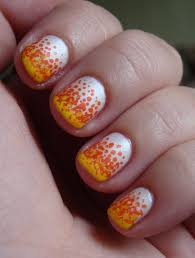 nail art literarywondrous candy corn nail art photos ideas best