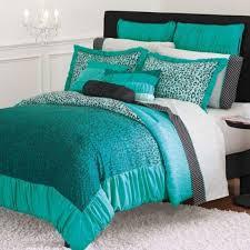 Kohls Comforters Candies Wild Thing Teal Leopard Comforter Twin Xl Dorm