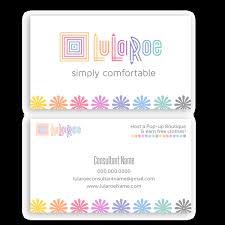 lularoe business card flowers u2022 itw visions