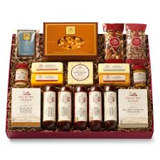 cheese gift box all day celebration gift box gift hickory farms