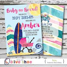beach baby shower invitations baby shower for parents