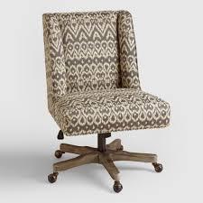 Upholstered Swivel Desk Chair Home Office Chairs U0026 Swivel Stools World Market
