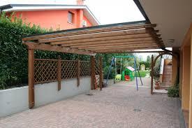 tettoie in legno e vetro pergolati e pergole in veneto