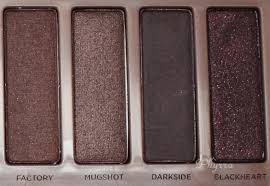 urban decay black friday urban decay 3 palette review and swatches on pale skin