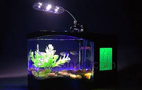 Fish Tank Desk by A Usb Powered Aquarium Alarm Clock Thermometer And Desk Light