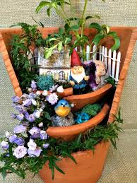21 broken pots turned into brilliant fairy garden diy ideas u2013 page