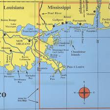 map of the gulf of mexico n line fishing map f129 gulf of mexico offshore