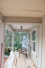 Exterior Beadboard Porch Ceiling - board and batten exterior progress thewhitebuffalostylingco com