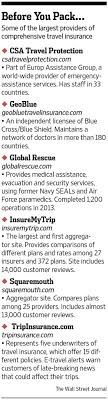 How to shop for travel insurance wsj