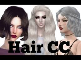 sims 4 hair cc sims 4 best cc hairstyles with download links youtube