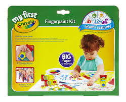 amazon com crayola my first fingerpaint kit washable paint