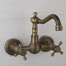 European Bathroom Fixtures European Style Vintage Wall Mount Kitchen Bathroom Faucet With