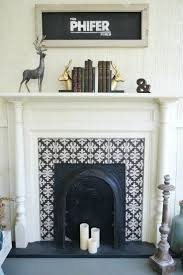pinterest gas fireplace ideas decorating tiled tile brick