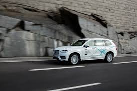 v olvo volvo cars and uber join forces to develop autonomous driving cars