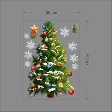 fresh christmas wall decorations home designs ideas home christmas wall stickers decals christmas tree wall stickers i i