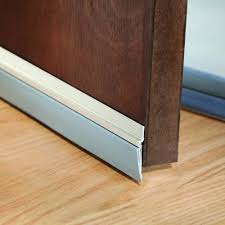 Laminate Flooring Doorway M D Silver Cinch Door Seal Bottom 1 Piece 36 In 43300