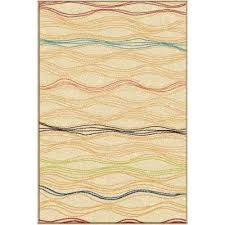 Yellow And White Outdoor Rug White Striped Outdoor Rugs Rugs The Home Depot
