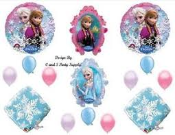 Snowflake Balloons Frozen Snowflake Disney Happy Birthday Party Balloons Decorations