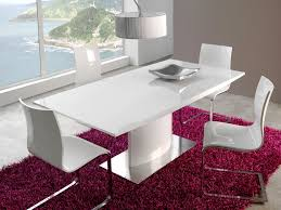 dining tables astonishing modern white dining table white glossy